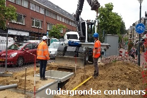 6. Plaatsen ondergrondse containers