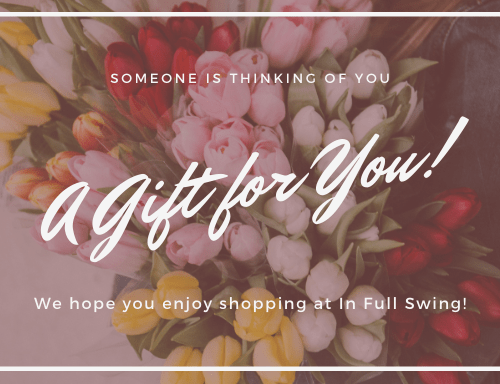 A Gift for You! - In Full Swing