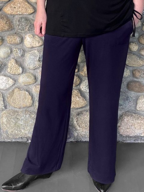 Diane Kennedy Bamboo Spirit Pant-Midnight