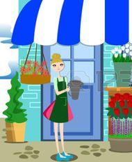 47922050-una-illustrazione-vettoriale-di-bella-fiorista-lavorare-con-un-mazzo-di-fiori-diversi-nel-negozio-di