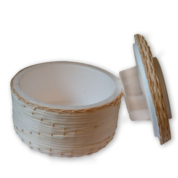 Insulating basket for dipping