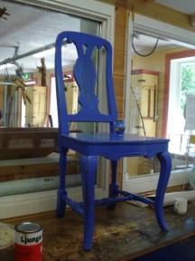 blue chair sätergläntan