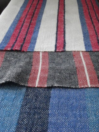 rustic linen towels (sauna towels)