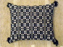 Monk's belt pillow
