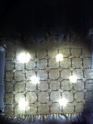 rimfrost + light experiment