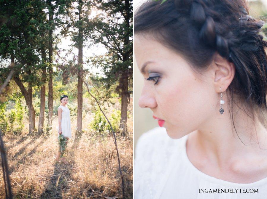 bodrum forest bride editorial