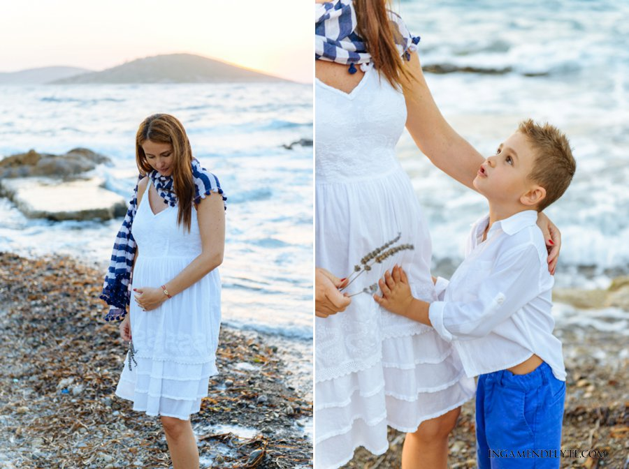Bodrum Maternity Portrait Photography