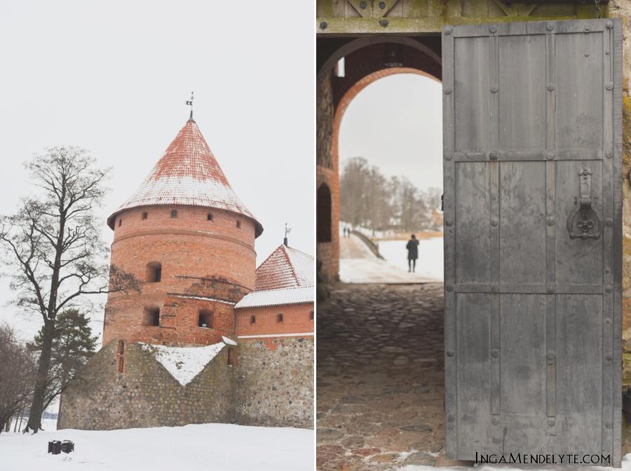 Trakai Castle, Traku pilis, Pazaisliu monastir, Pazaisliu vienuolynas