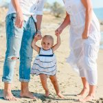 A + B + E :: Family session on the beach :: Bodrum