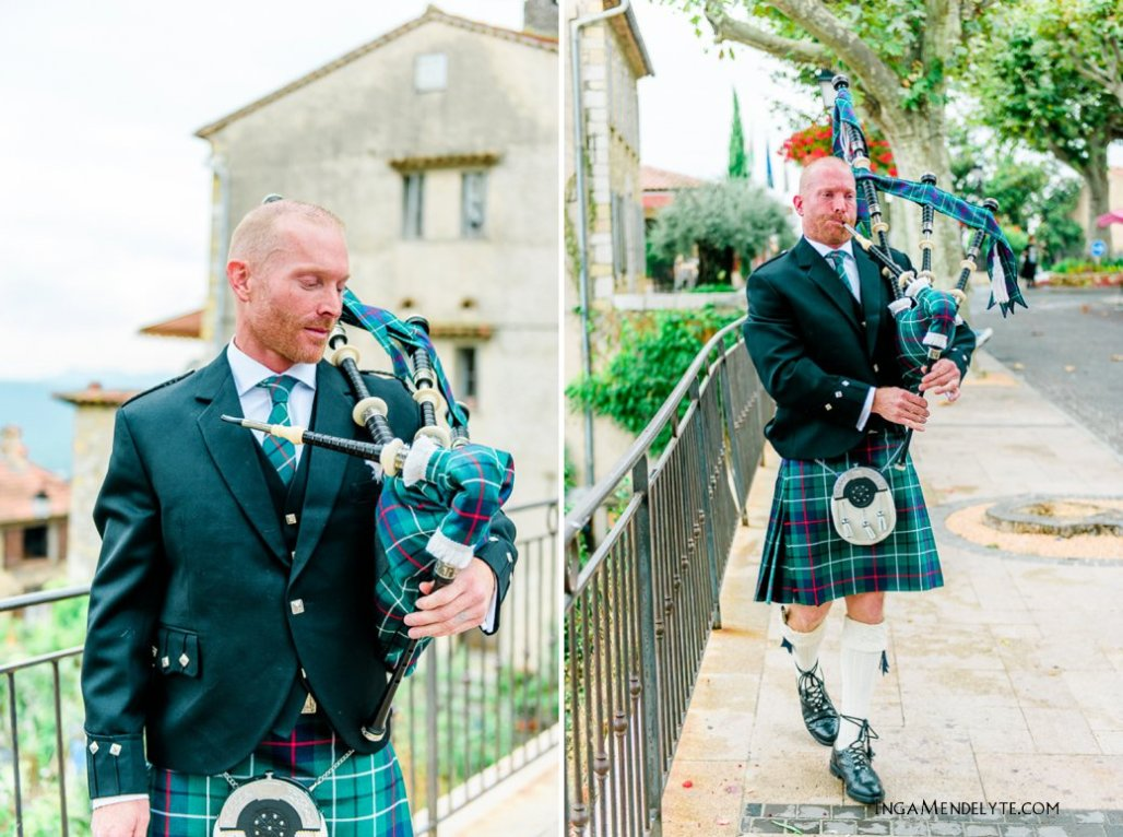 Melody + David Wedding in Fayence, South of France