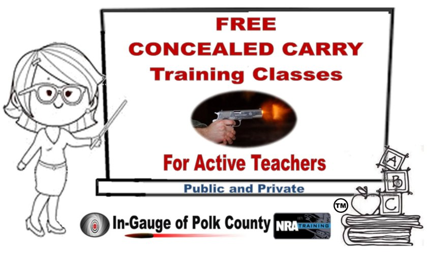 Concealed carry training – In-Gauge of Polk County