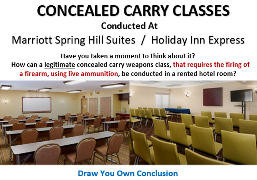 CONCEALED CARRY CLASSES – Lakeland / Davenport
