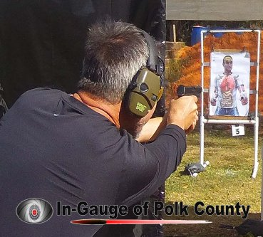 In-Gauge of Polk County's advanced concealed carry training class