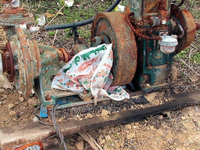 destroyed-water-pump