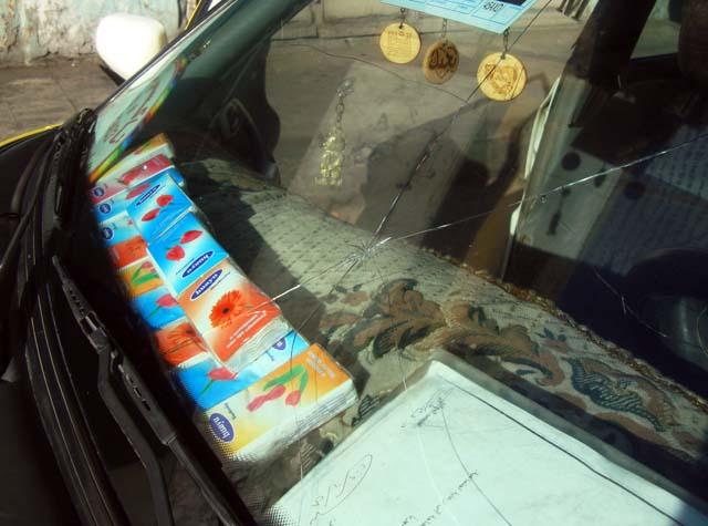 tissues taxi