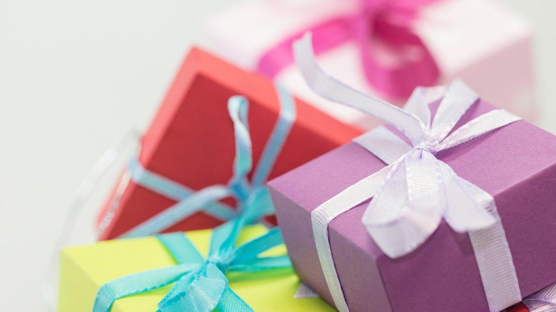ingepakte cadeau's