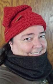 Renata in her Korgen tomte hat