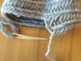 Sock in progress 2