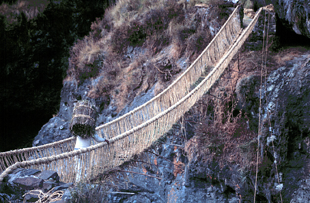 Incan Rope Bridge