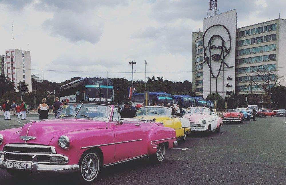 macchine plaza de la revolucion Cuba