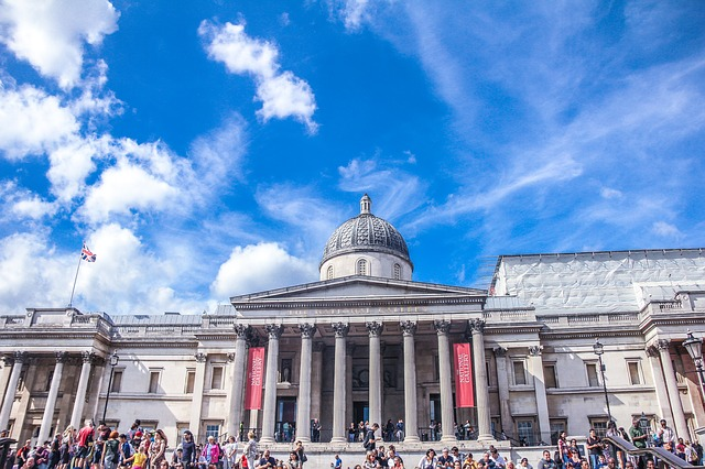 Facciata national gallery Londra