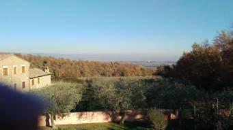 Vista da metinella a Montepulciano