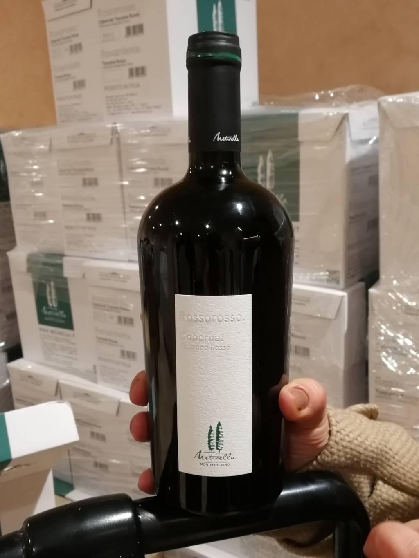 Bottiglia Metinella di Montepulciano