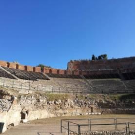 Cavea teatro greco taormina