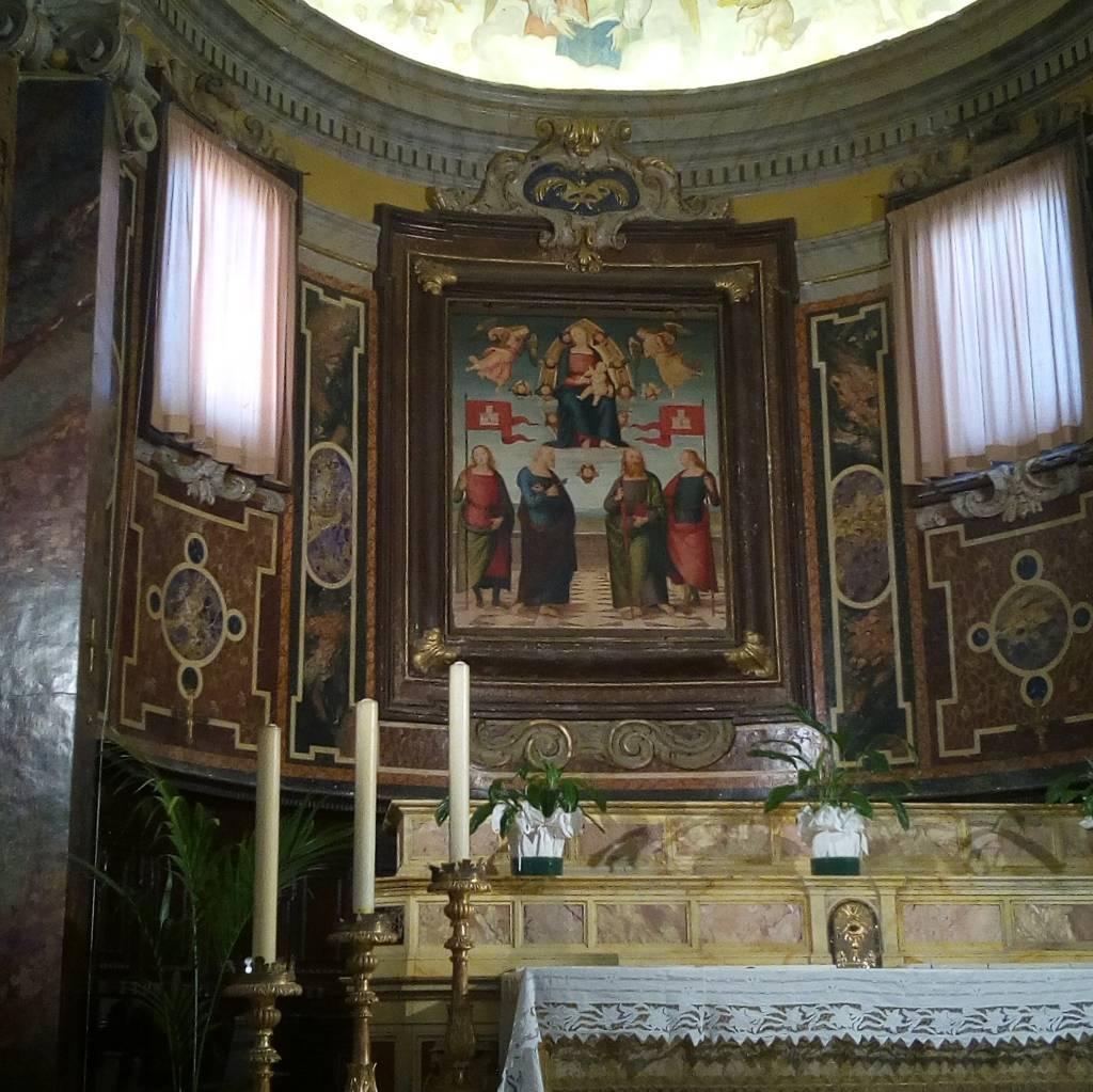 Madonna di Gloria a città della Pieve