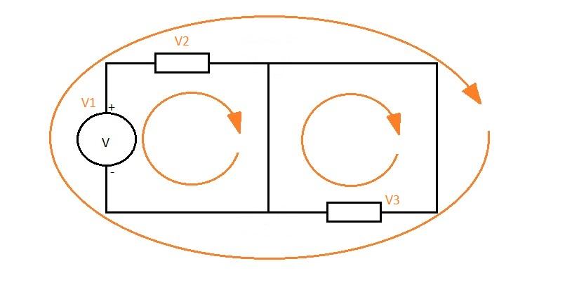 Leyes de Kirchhoff y método de mallas. Resolución de circuitos eléctricos (2/6)
