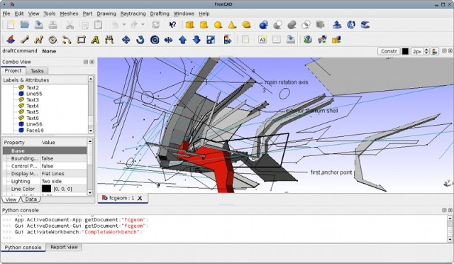 Programas de diseño y modelado gratuitos. Descarga software CAD gratuitos. Alternativas a AutoCAD. (3/5)