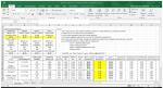 Excel para Diseño de Mezclas de concreto