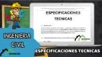 Especificaciones Técnicas de MEJORAMIENTO y AMPLIACION DE LOS SERVICIOS DE EDUCACIÓN PRIMARIA