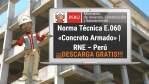 Norma Técnica E.060 «Concreto Armado» | RNE – Perú