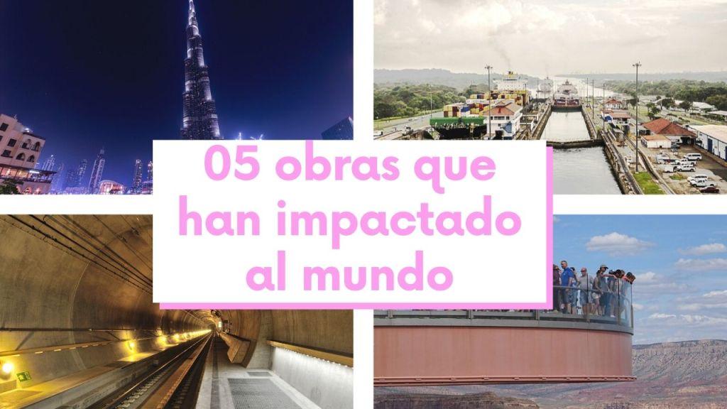 05 obras que han impactado a todo el mundo