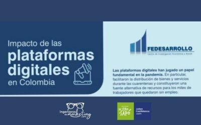 Impacto de las plataformas digitales en Colombia