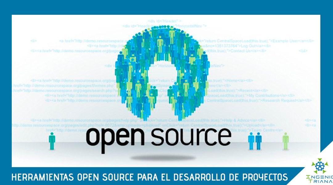 Herramientas Open Source para el desarrollo de proyectos
