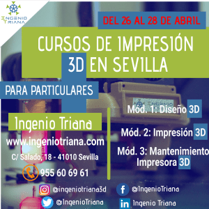Curso 3D Abril 2021 Ingenio Triana