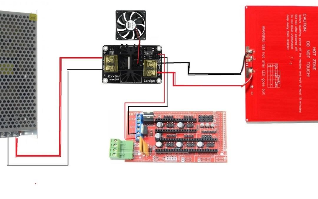 Alargar la vida útil de la electrónica. Mosfet para impresoras 3D.