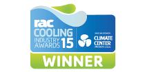 RAC Cooling Winner Award logo