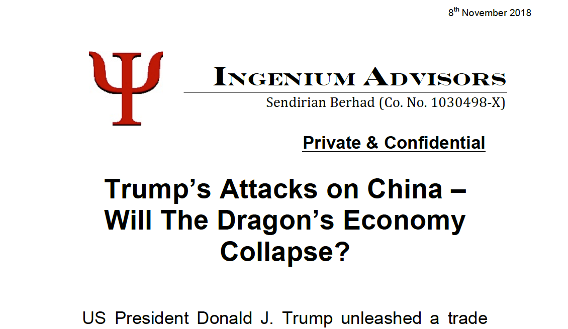 Trump's Attacks on China – Will the Dragon's Economy Collapse?