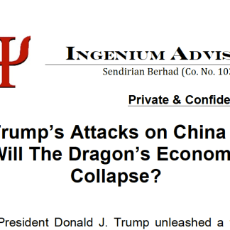 Trump's Attacks on China - Will the Dragon's Economy Collapse?