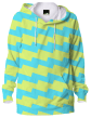 BlueGreenYellow HorizontalStripes (BGYHS) Hoodie By IngeniumTeeBlue Green Yellow Horizontal Stripe (BGYHS) Hoodie