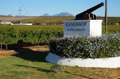 Entrance to Kanonkop