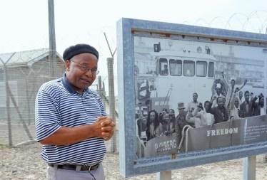 Robben Island tour with former prisoner