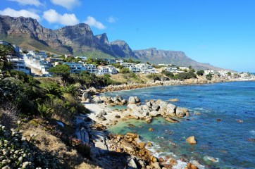 Camps Bay and the Twelve Apostles