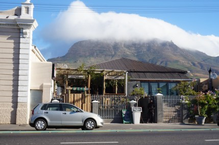 Cafe in Cape Town's Woodstock neighborhood