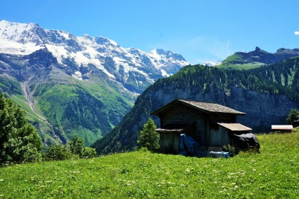 Gimmelwald view