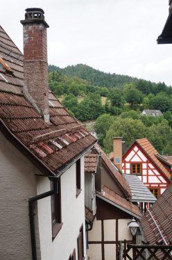 Rooftops in Schiltach