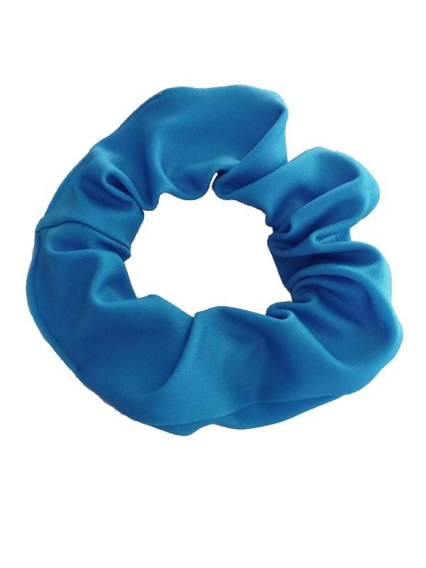 Haarwokkel Lycra licht blauw